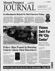 Mount Prospect Journal Cover
