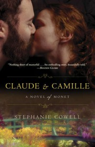 claude and camille: a novel of monet book cover