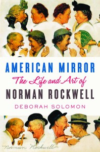 american mirror the life and art of norman rockwell book cover