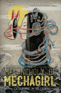 the melancholy of mechagirl book cover