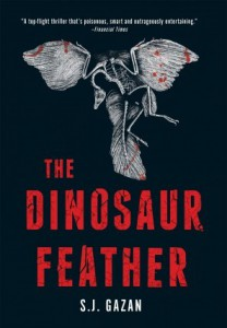 the dinosaur feather book cover