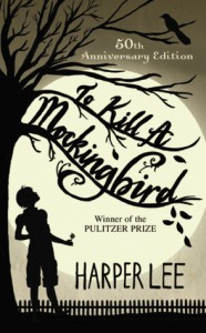 to kill a mockingbird 50th anniversary addition book cover
