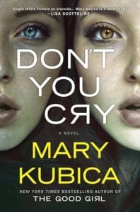 Don't You Cry book cover