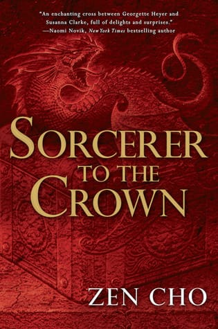 Sorcerer to the Crown book cover