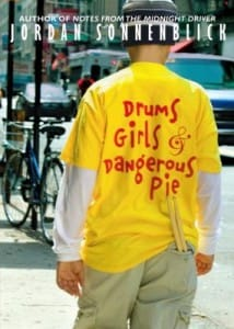 Drums Girls and Dangerous Pie book cover
