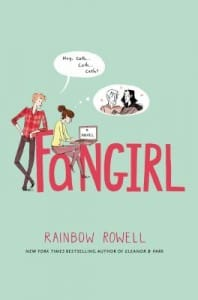 Fangirl book cover