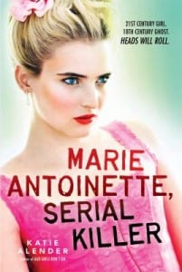 Marie Antoinette, serial killer book cover