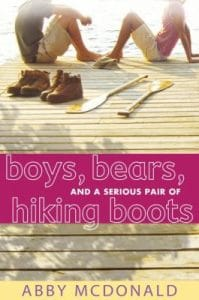 Boys Bears and a serious pair of hiking boots book cover