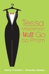 Tessa Masterson will go to prom book cover