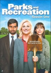 Parks and Recreation DVD cover