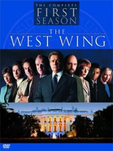 West Wing DVD cover