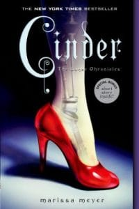 cinder - the lunar chronicles book cover
