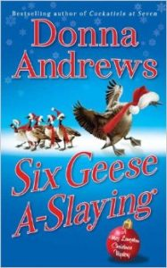 Six Geese A-Slaying book cover