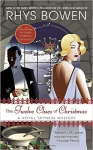 Twelve Clues of Christmas book cover