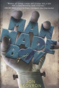 Man Made Boy book cover