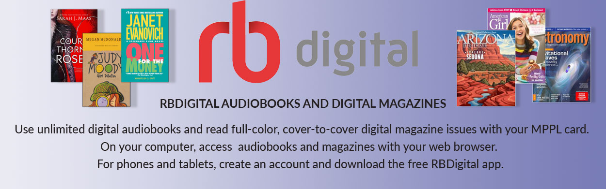 RBdigital audiobooks and digital magazines