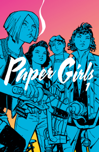 Paper Girls book cover