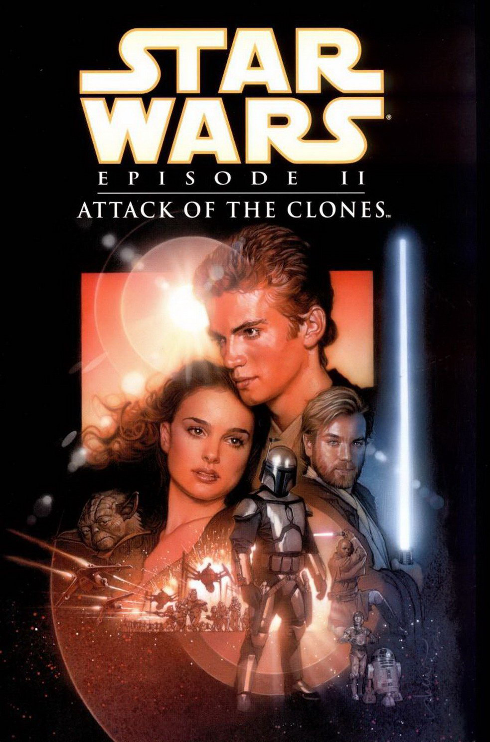 Attack of the Clones dvd cover