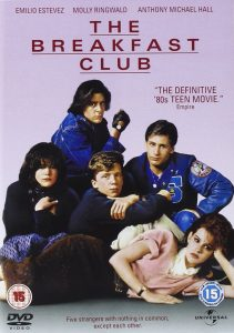 Breakfast Club dvd cover