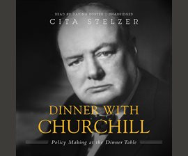 Dinner with Churchill audiobook cover