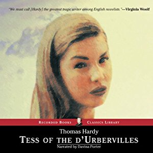 Tess of the DUrbervilles audiobook cover