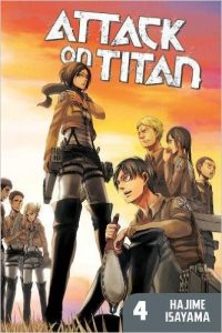 Attack on Titan 4 book cover