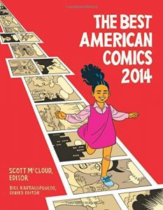 Best American Comics 2014 book cover