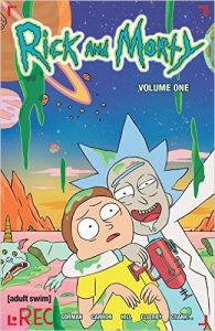 Rick and Morty book cover