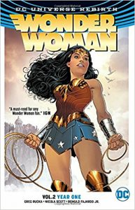 Wonder Woman Year One book cover