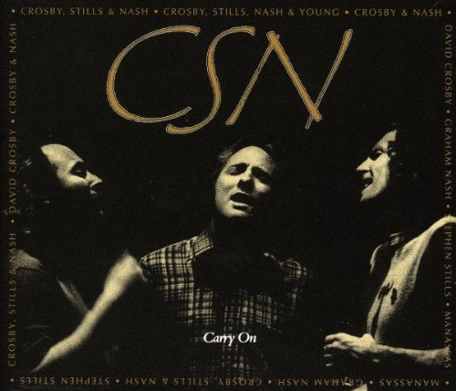 Crosby Stills and Nash Carry On album cover