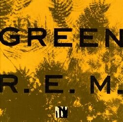 Green R.E.M. album cover