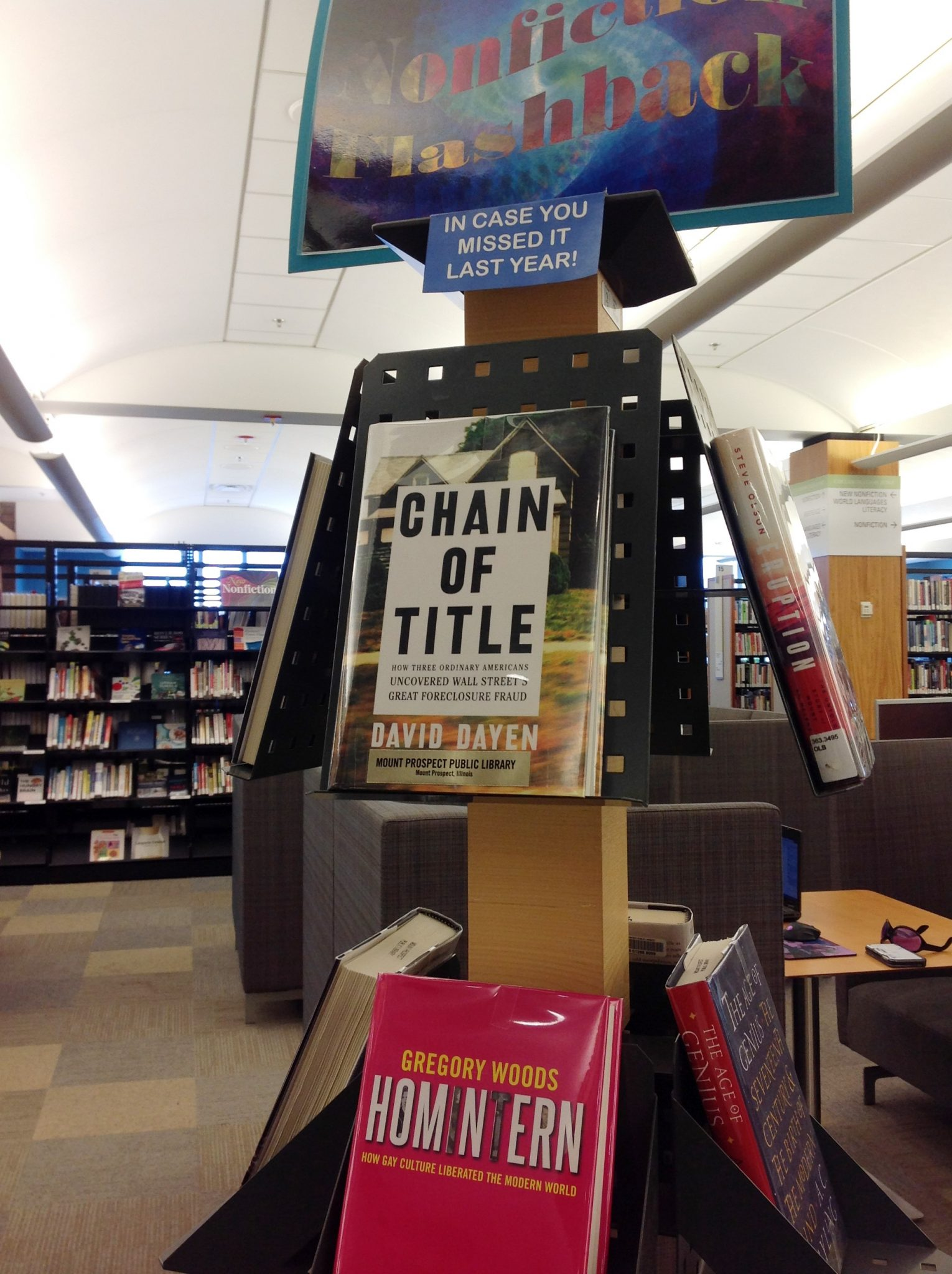 picture of Nonfiction display