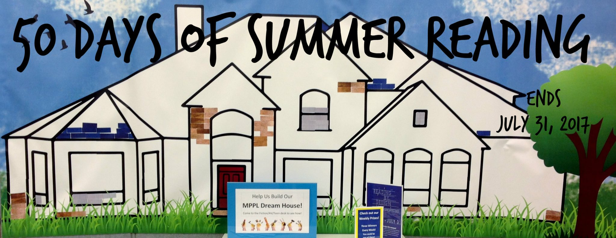 50 Days of Summer Reading Banner