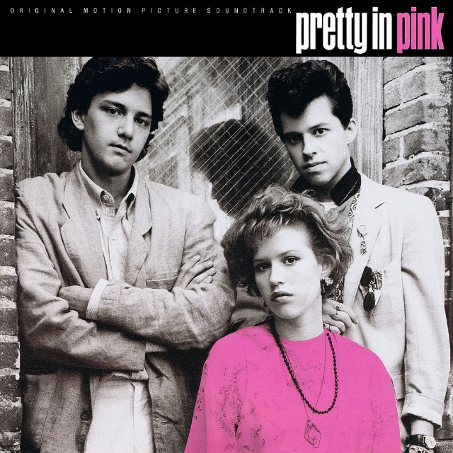Pretty in Pink soundtrack album cover