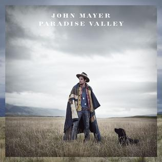 John Mayer Paradise Valley album cover