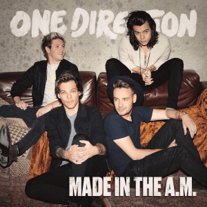 One Direction Made in the A.M. album cover