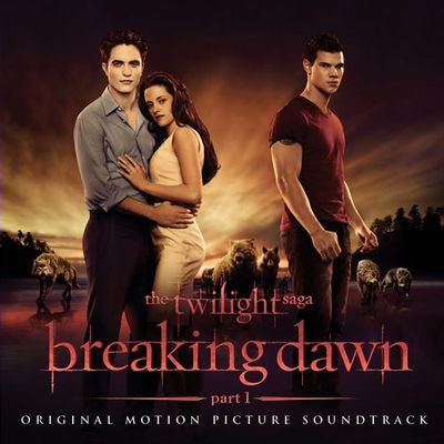 Breaking Dawn Soundtrack album cover