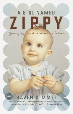 A Girl Named Zippy by Haven Kimmel book cover