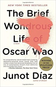 Brief Wondrous Life of Oscar Wao book cover
