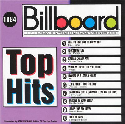 Billboard Top Hits of 1984 album cover