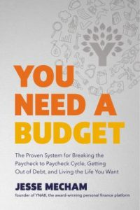 Cover of You Need a Budget