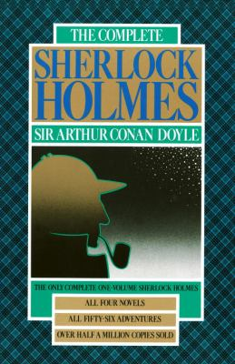 The Complete Sherlock Holmes book cover