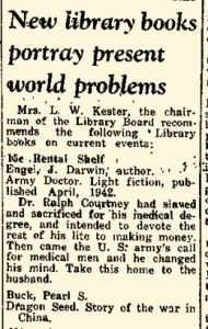 11 Sept. 1942 New Books Portray Present World Problems