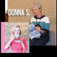 Picture of Donna S and book cover