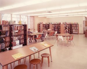 Library Childrens area 1962