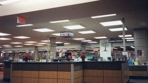New Reference desk in old Emerson building c2002