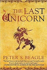 The Last Unicorn book cover
