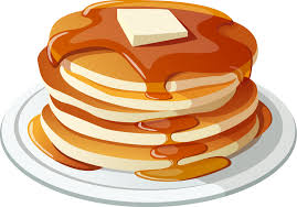 stack of pancakes clipart