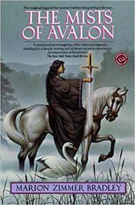 The Mists of Avalon book cover
