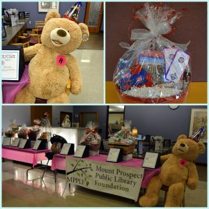 collage of chocolate raffle prizes